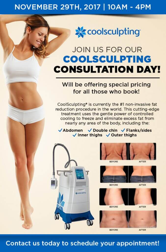 Join us for our CoolSculpting Consultation Day!!