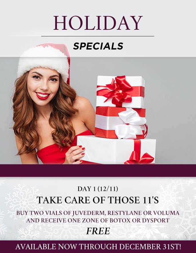December Specials 2017