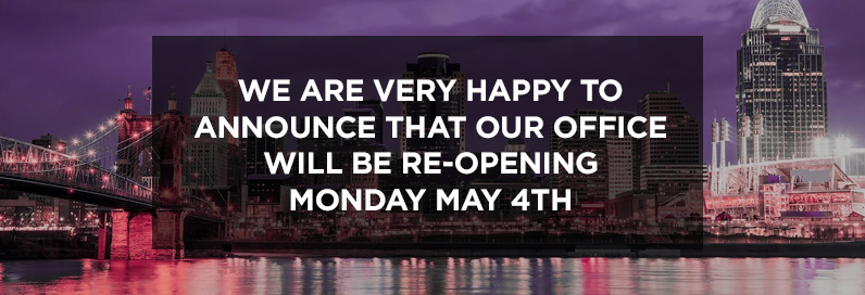 , We Are Re-Opening!